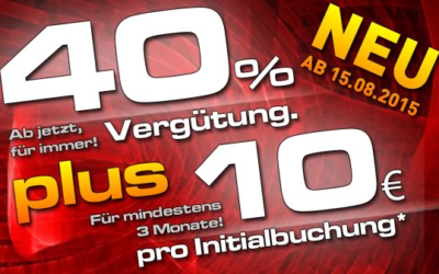 777Livecams und JetztLive 40% + 10 Euro Initial